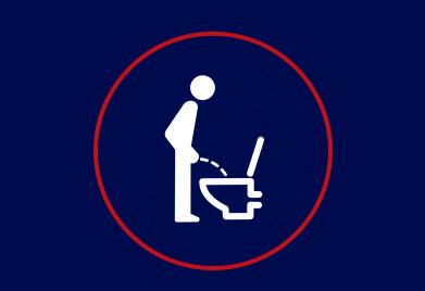 No final do Primeiro Mês voce irá urinar bastante, onde você terá um Jato forte, sem aquele pinga-pinga.